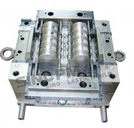 CPVC pipe clip mould core side