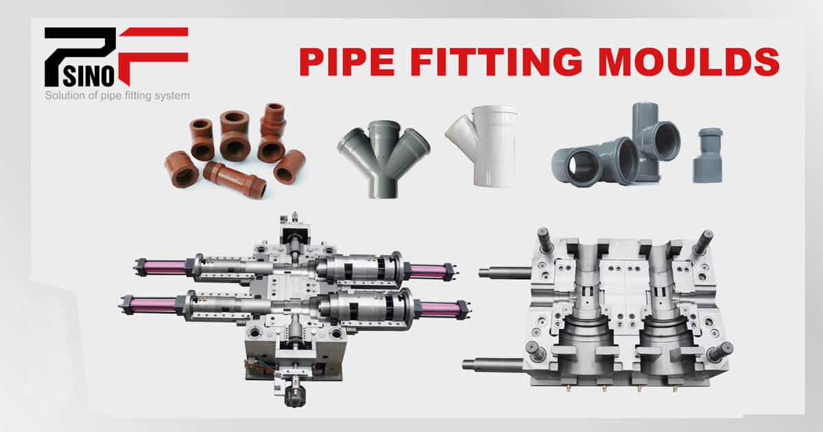 Common pipe fitting mould solution